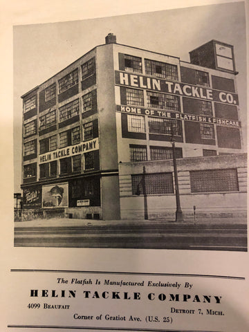 Helin Tackle Company Factory