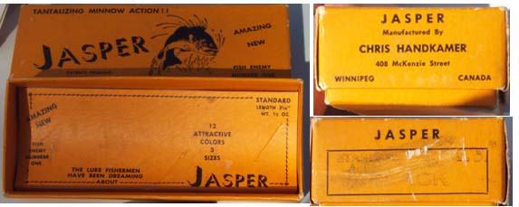 Jasper Lures and Boxes