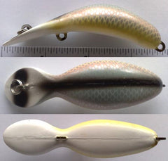 HEDDON TADPOLLY COLOR P-SHINER SCALE