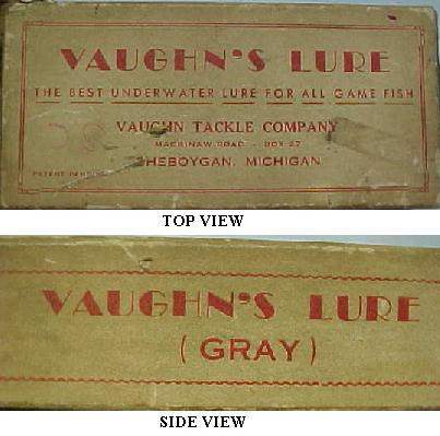 Vaughn Lure Box