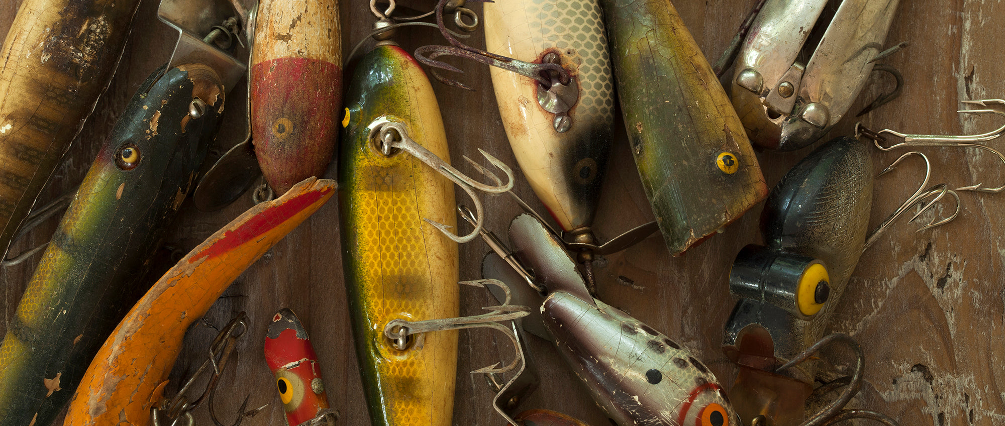 Collecting Fishing Lures