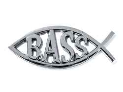 Bass Custom Car / Truck Emblem