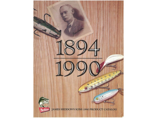 Heddon 1990 Fishing Lure Catalog + Insert