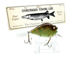 Chautauqua Special Order Wooden Punkinseed in Camo Perch Color 2020