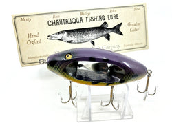 Chautauqua Wooden Special Order Musky Chippewherl in Purple Sucker Color