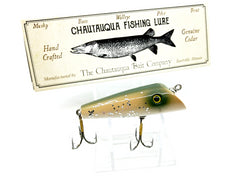 Chautauqua Special Order Wooden Dunker in Silver Flash Color 2020