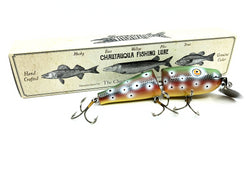 Chautauqua Custom Jointed Chubby Pikie in Ruby Trout 2020 Color