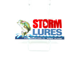 Storm Lures Sticker Smaller Size