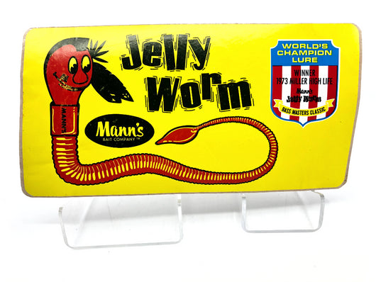 Mann's Jelly Worm 1973 Bass Masters Classic Sticker