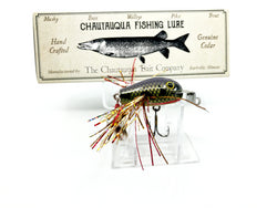 Chautauqua Special Order Wooden Baby Dingbat Purple Trout 2020 Color Creek Chub Lip