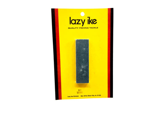 Lazy Ike Vintage Sharpening Stone New on Card Old Stock