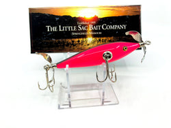 Little Sac Bait Company Niangua Minnow Pink / Black Back Hot Pink 2008 Color Signed Box 65/145