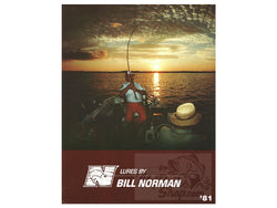 1981 Bill Norman Fishing Lure Catalog