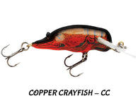 Bagley Small Fry Crayfish Deep Diving (15 Colors to Choose from)