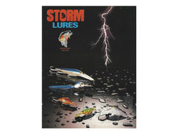 1989 Storm Lures 25th Anniversary Catalog 1964-1989 + Insert