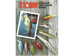 1980-1981 Storm Lures Catalog + Insert / Price List