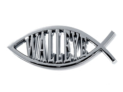 Walleye Custom Car / Truck Emblem