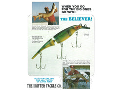 Drifter Tackle 1980 Catalog and Price List / Order Form
