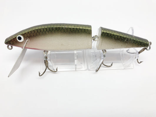 Hi Fin Jointed Sidewinder Twitchin Minnow Musky Lure