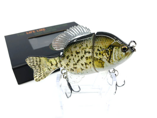 Mother Nature Lure Swimbait Baby Sunfish Series White Crappie Color New in Box