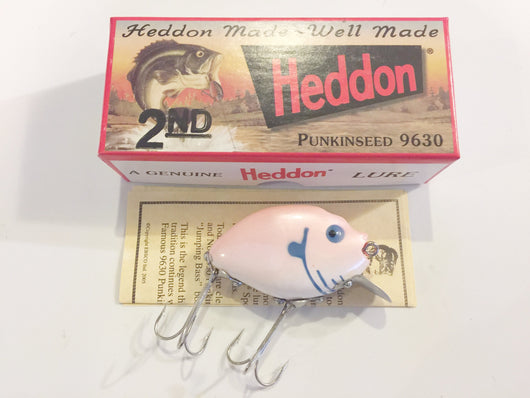 Heddon 9630 2nd Punkinseed PPB Pink Pearl Color New in Box