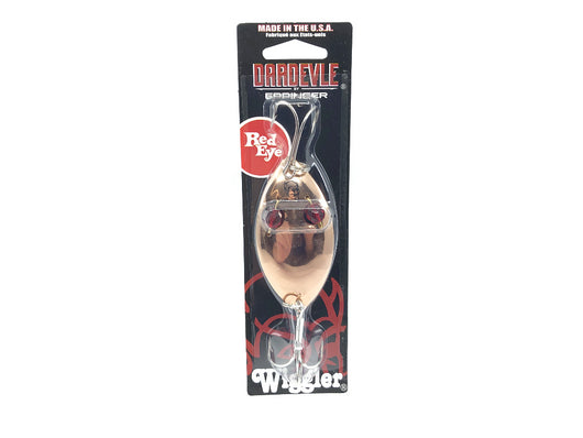 Eppinger Red Eye Wiggler 1 oz. Color 24 Copper New on Card