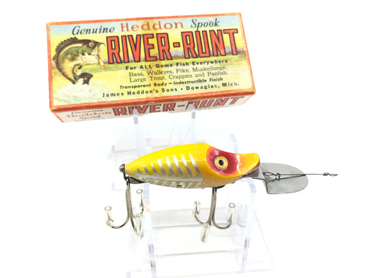 Heddon Go-Deeper River Runt D-9010 XRY Yellow Shore Minnow Color with Box