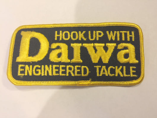 Daiwa Fishing Tackle Patch