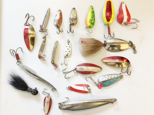Huge lot of Metal Lures.  All for one price!