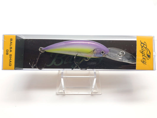 Bagley Balsa Shad 08 BS08-PSS Purple Sexy Shad Color New in Box OLD STOCK
