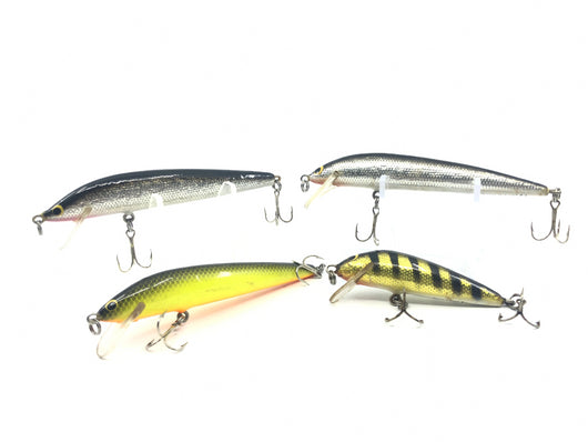 Four Bagley Bang-O-Lures