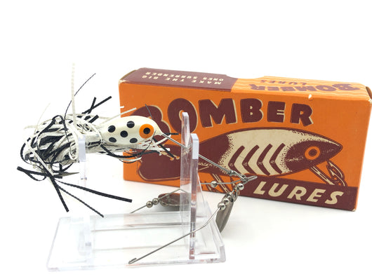 Bomber BushWhacker 6436 Black/White Dots with Box