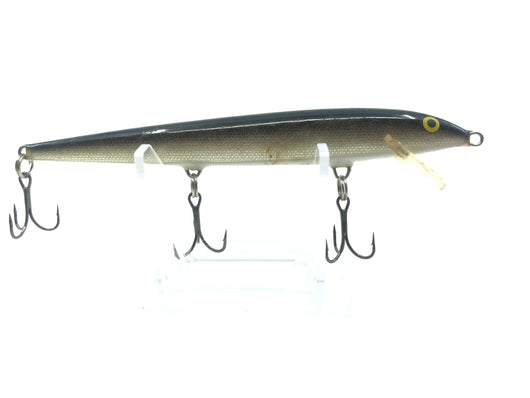 Rapala Floater Minnow Black and Silver