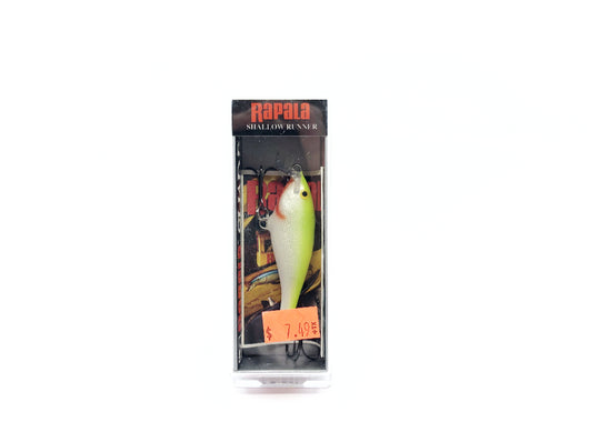 Rapala Shallow Shad Rap SSR05 SFC Silver Fluorescent Chartreuse Color New with Box Old Stock