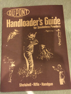 Du Pont 1978 Handloader's Guide for Smokeless Powders Catalog