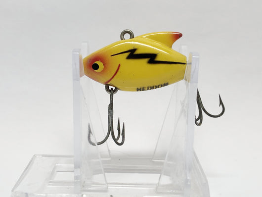 Heddon Sonic Yellow with Black Lightning Bolt