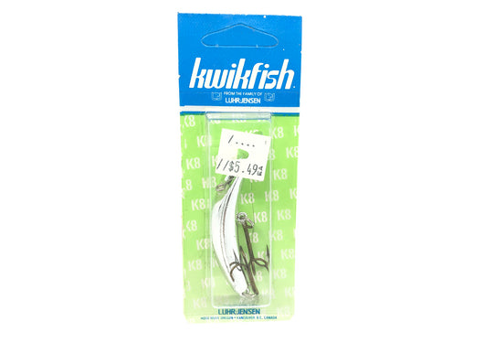 Kwikfish K8 Color 920 Silver Plated (SP) New on Card Old Stock
