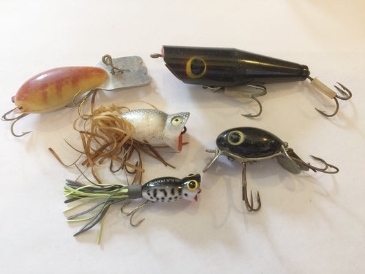 Grab Bag Lot!  Arbogast lot of 5