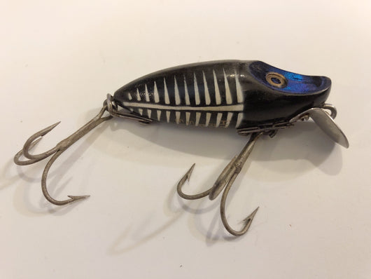 Heddon River Runt Spook Sinker Black Shore Color