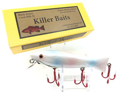 Rusty Jessee Killer Baits Trout Caster Model in Pearl Color 2019