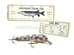 Chautauqua Wooden Crankbait Minnow Ruby Trout 2020 Color Custom Lure