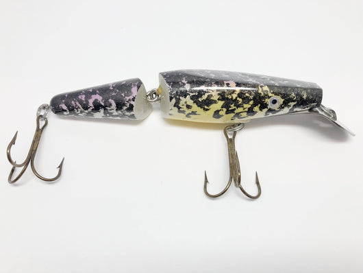 Musky Jointed Shark Looking Lure in Crappie Color