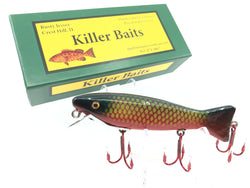 Rusty Jessee Killer Baits Trout Caster Model in Deep Blue Yellow Scale Color 2019