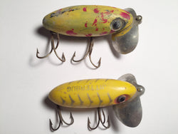 Jitterbug by Arbogast Lot of Two