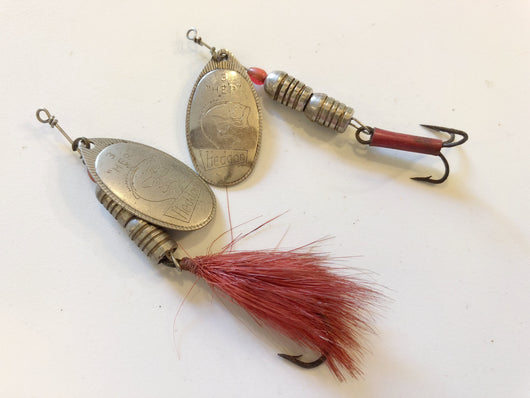Heddon HEP Spinners Size 3 Lot of Two