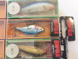 Rapala Lot of 8 Lures, One Price!