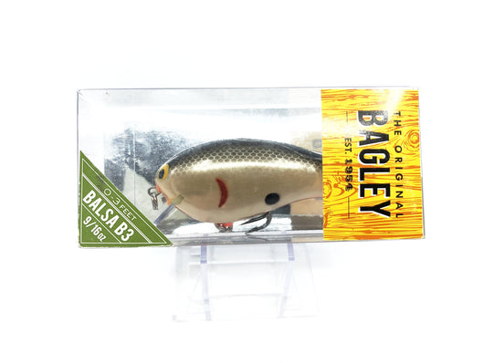 Bagley B3 Square Bill Shad Color BB3-SD New in Box OLD STOCK2