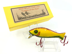 Rusty Jessee Killer Baits Bass Caster Model in Colors of the Sun 2019 NFLCC Club Lure