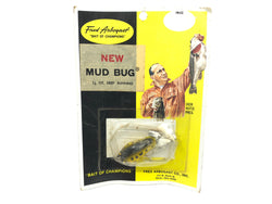 Fred Arbogast Mud Bug 1/8 oz New on Card Vintage New Old Stock