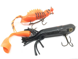 Lot of Two Soft Musky Baits